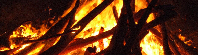 Focarazza fire ritual in Tuscany