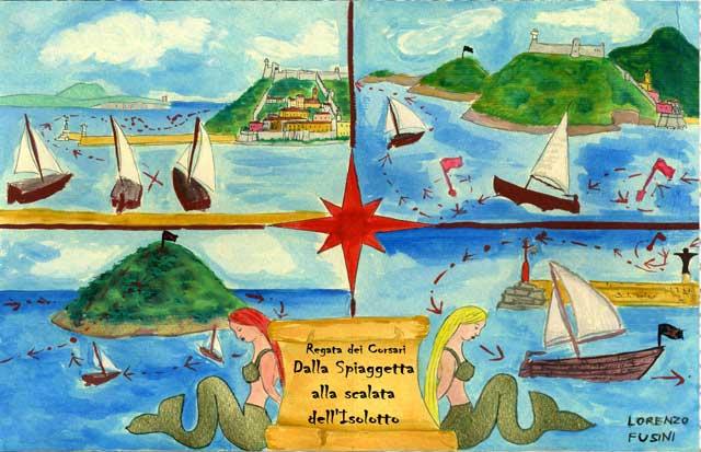 Night of the Pirates - Corsair Regatta in Porto Ercole, Tuscany