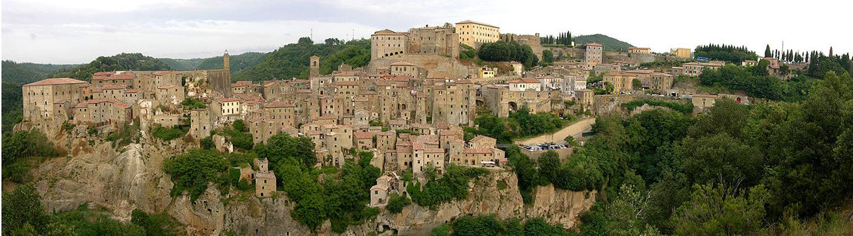 Sorano in Maremma Tuscany