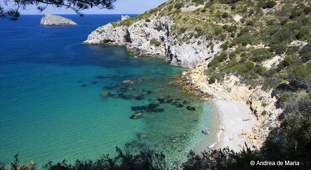 Cala del Gesso Bay, Argentario, Maremma Tuscany