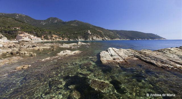 Le Cannelle Beach, Argentario, Maremma Tuscany