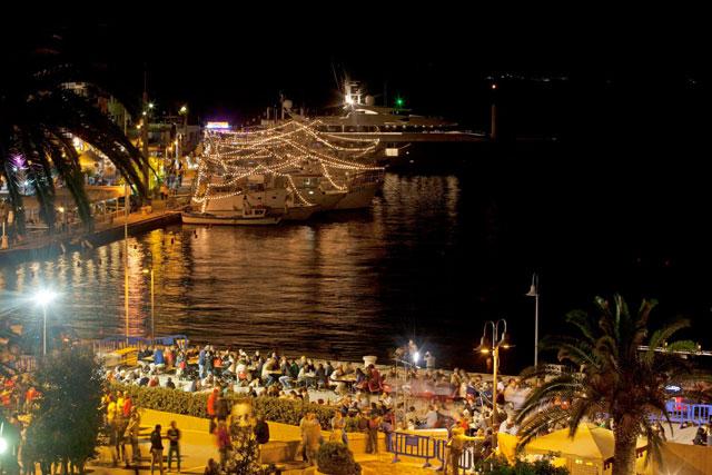 Lively & delicious night in Porto Santo Stefano