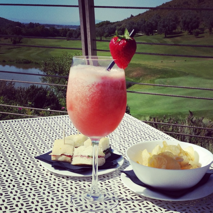 Non-alcoholic cocktail with Argentario Fruits