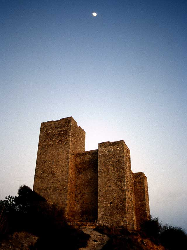 The ancient Rocca, Talamone