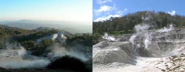 The Biancane Geothermal Park